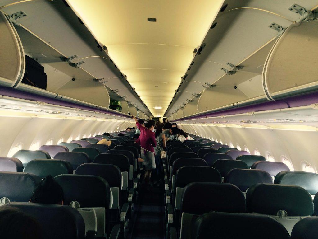 Aerolínea low cost Peach avión