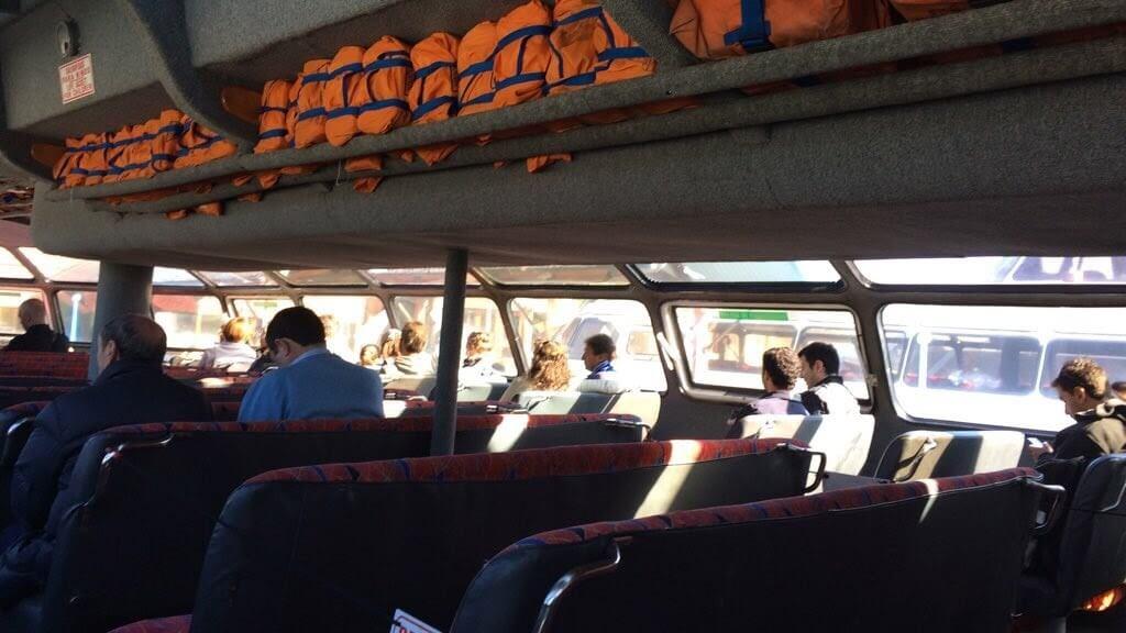 Excursión a Puerto Blest y Cascada de los Cántaros barco