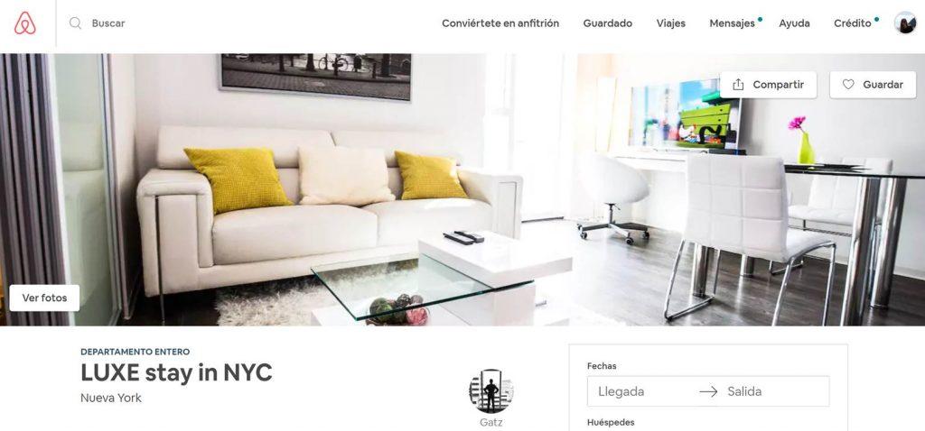 Problemas Airbnb en Nueva York
