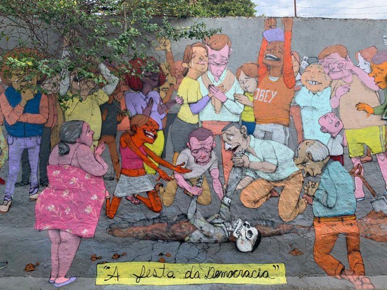 Donde alojarse en San Pablo graffitis