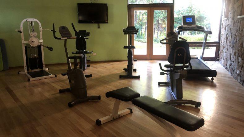 Hotel Design Suites Bariloche gimnasio