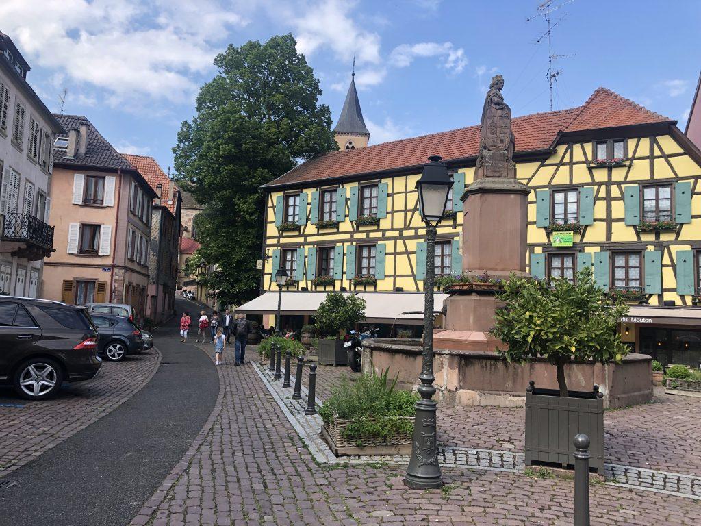 Donde dormir en la Alsacia Francesa