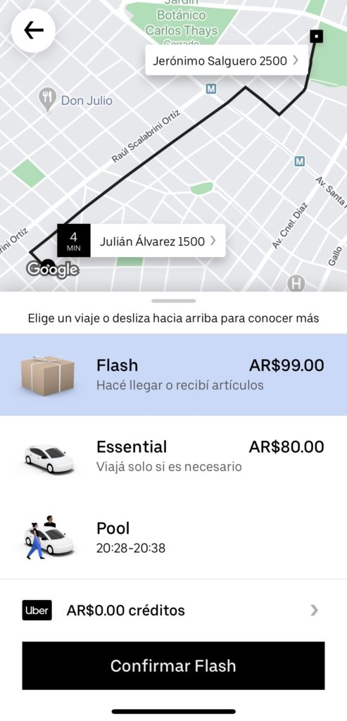 Deliverys para mensajería: todas las opciones y precios de envios