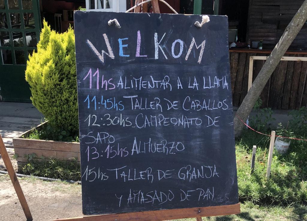 Pequeña Holanda dia de campo actividades