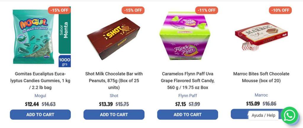 Latinafy precios productos