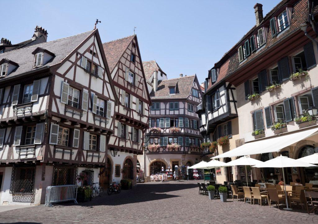 Donde alojarse en Alsacia